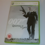 XBOX 360 007 Quantum of solace game boxed complete